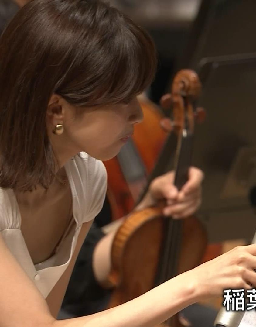 加藤綾子 これは抜ける胸チラ・ブラちら(クラシック音楽館 N響ほっとコンサート)キャプ・エロ画像19