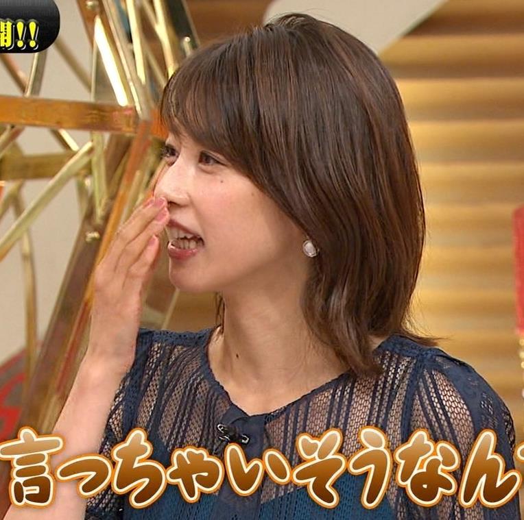 加藤綾子 透け透け衣装!!キャプ・エロ画像3