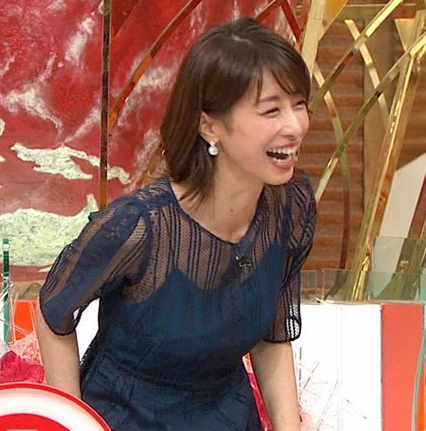 加藤綾子 透け透け衣装!!キャプ・エロ画像5
