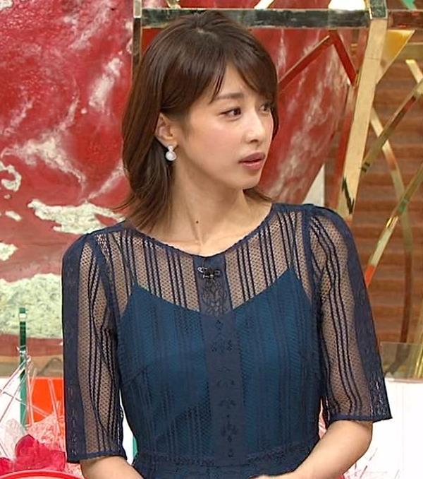 加藤綾子 透け透け衣装!!キャプ・エロ画像7