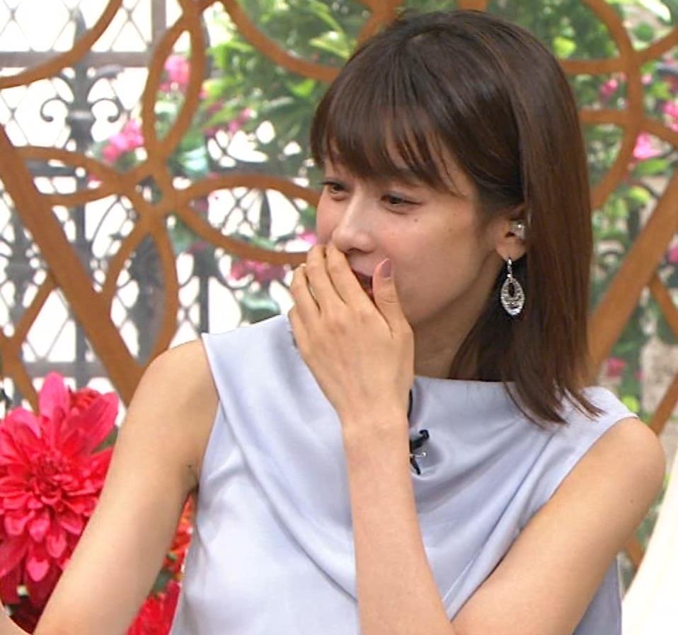 加藤綾子 ノースリーブ姿「ホンマでっかTV!?」 キャプ・エロ画像5