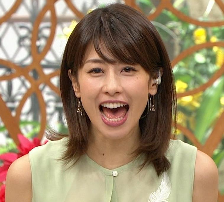 加藤綾子アナ いつも通りノースリーブでワキがエロいキャプ・エロ画像2