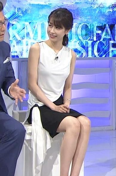加藤綾子 パツパツ衣装でお胸が大変なことに!キャプ・エロ画像11