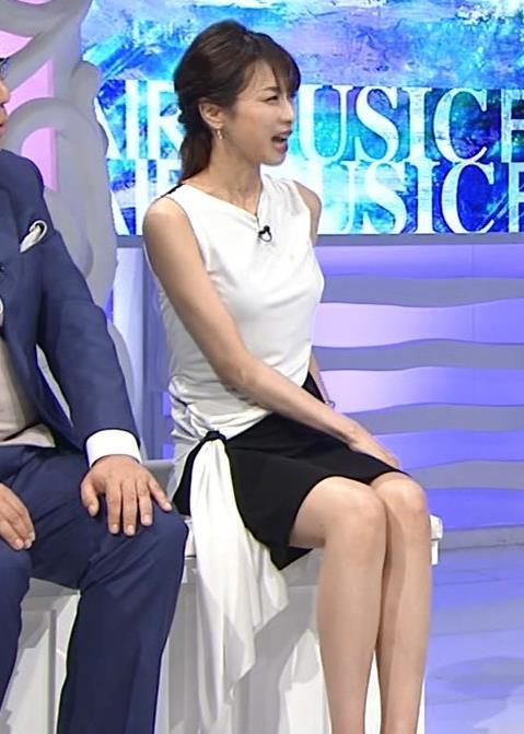 加藤綾子 パツパツ衣装でお胸が大変なことに!キャプ・エロ画像5