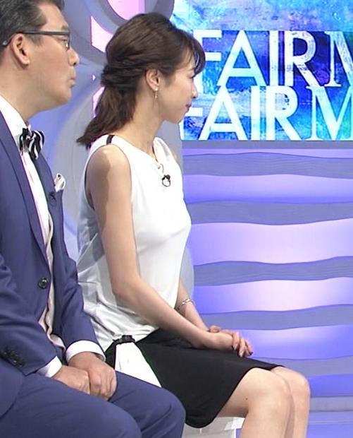 加藤綾子 パツパツ衣装でお胸が大変なことに!キャプ・エロ画像7