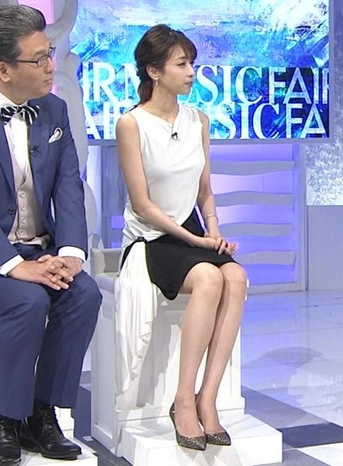 加藤綾子 パツパツ衣装でお胸が大変なことに!キャプ・エロ画像8