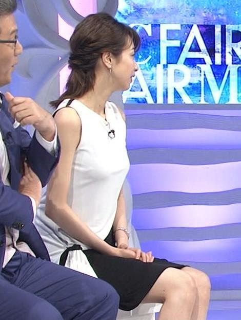 加藤綾子 パツパツ衣装でお胸が大変なことに!キャプ・エロ画像9
