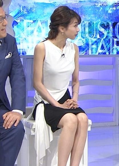 加藤綾子 パツパツ衣装でお胸が大変なことに!キャプ・エロ画像10