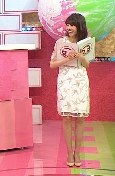 加藤綾子 腕スケスケワンピースキャプ・エロ画像11