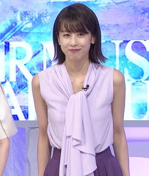 加藤綾子 ノースリーブの白い肌キャプ・エロ画像10