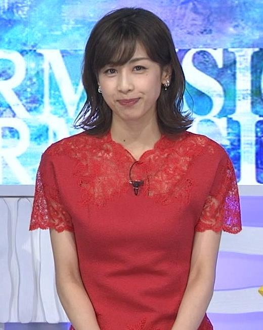 加藤綾子 チャイナドレス風衣装がエロいキャプ・エロ画像2