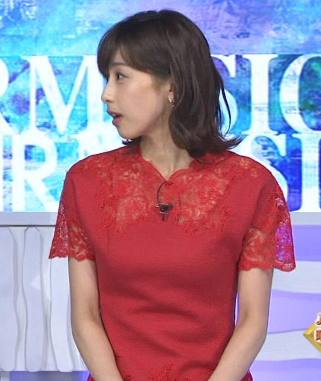 加藤綾子 チャイナドレス風衣装がエロいキャプ・エロ画像6