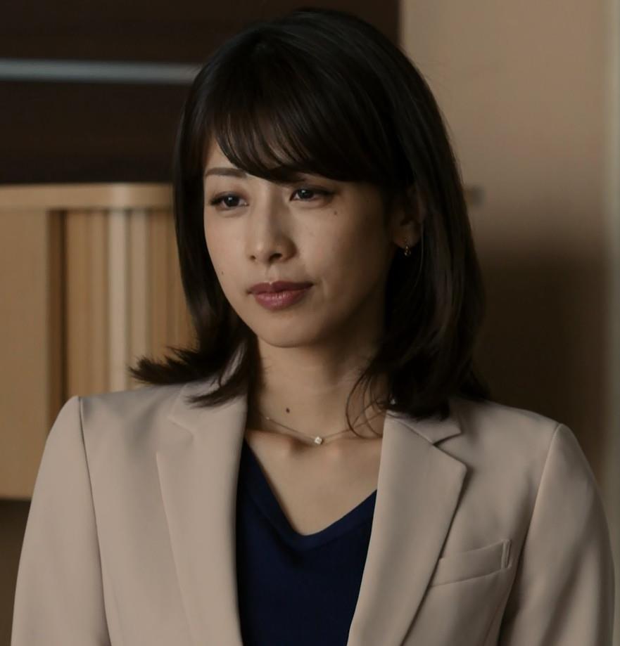 加藤綾子 ドラマでのパンツスタイルのお尻キャプ・エロ画像13