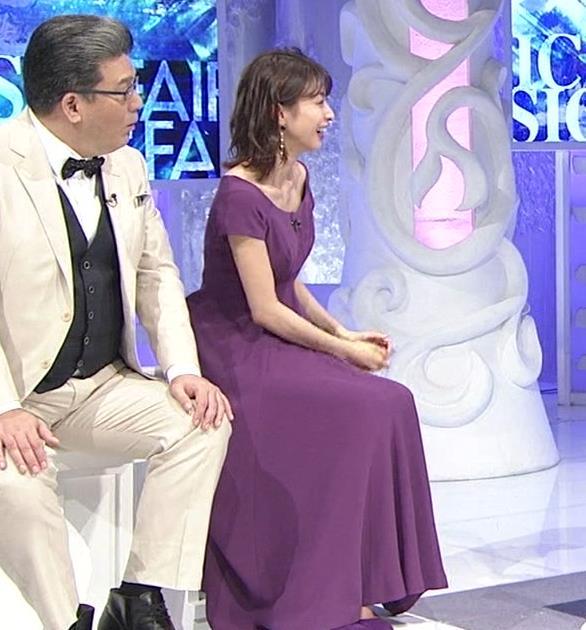 加藤綾子 鎖骨を大胆露出キャプ・エロ画像3
