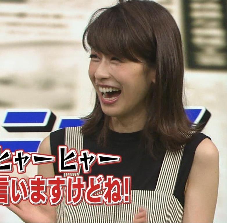 加藤綾子 またワキがエロい衣装キャプ・エロ画像5