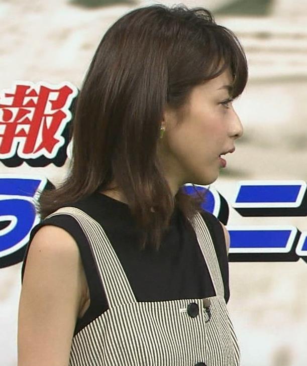 加藤綾子 またワキがエロい衣装キャプ・エロ画像8