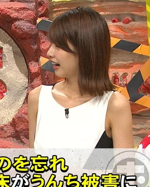 加藤綾子 毎度ワキがエロいノースリーブキャプ・エロ画像7