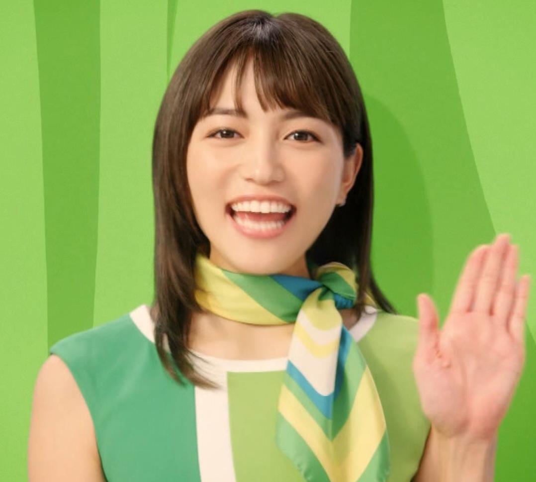 川口春奈 すごくカワイイCMキャプ・エロ画像4