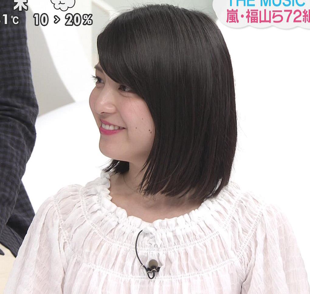 川島海荷 ピンクの長いスカートのスリットキャプ・エロ画像12