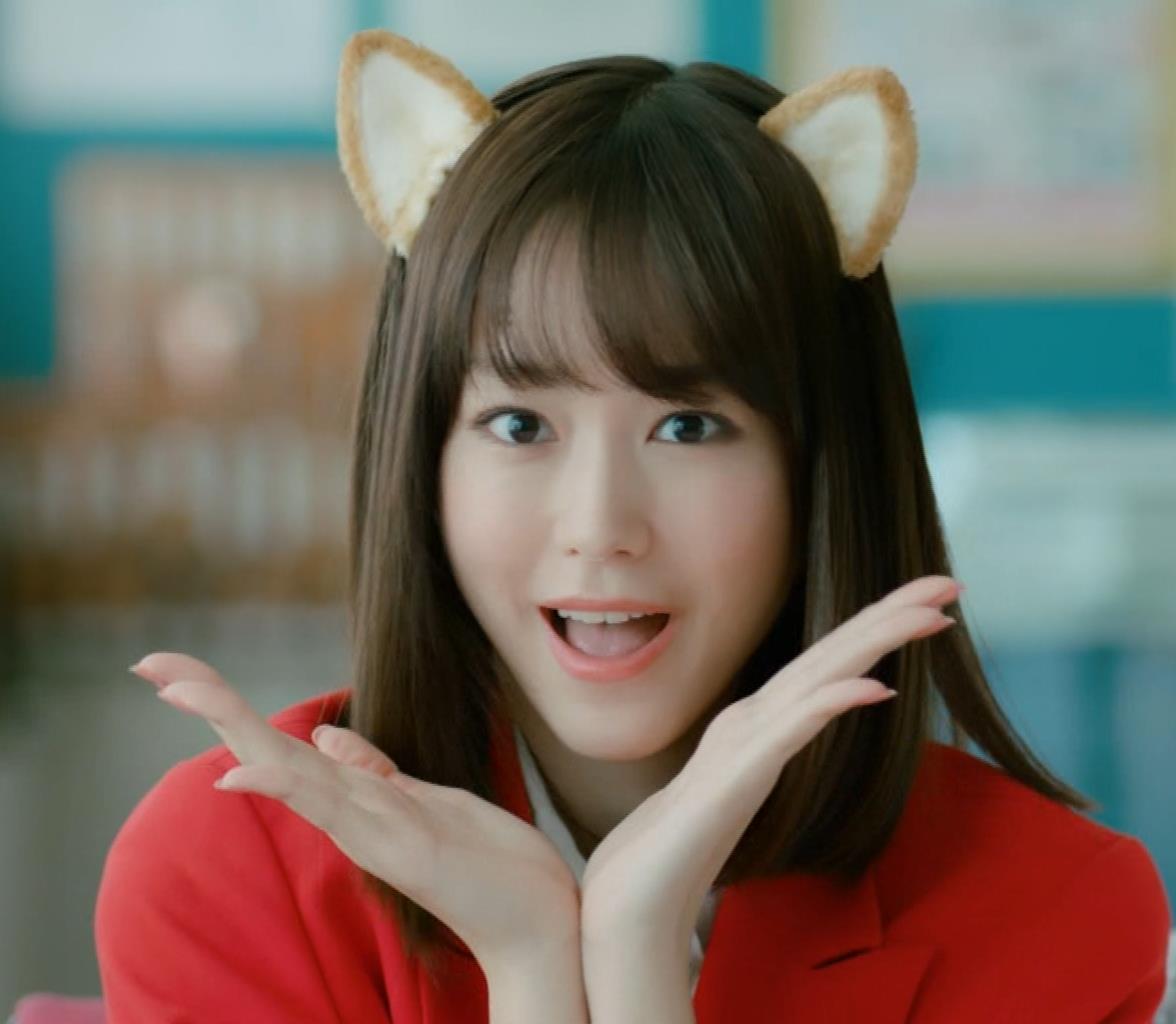 桐谷美玲 キスシーン&猫耳キャプ・エロ画像2