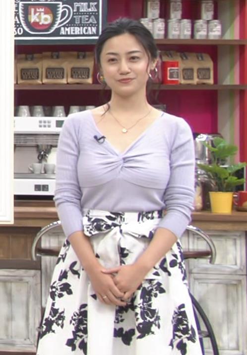 小林麗菜 フェロモンたっぷりのニット巨乳キャプ・エロ画像4