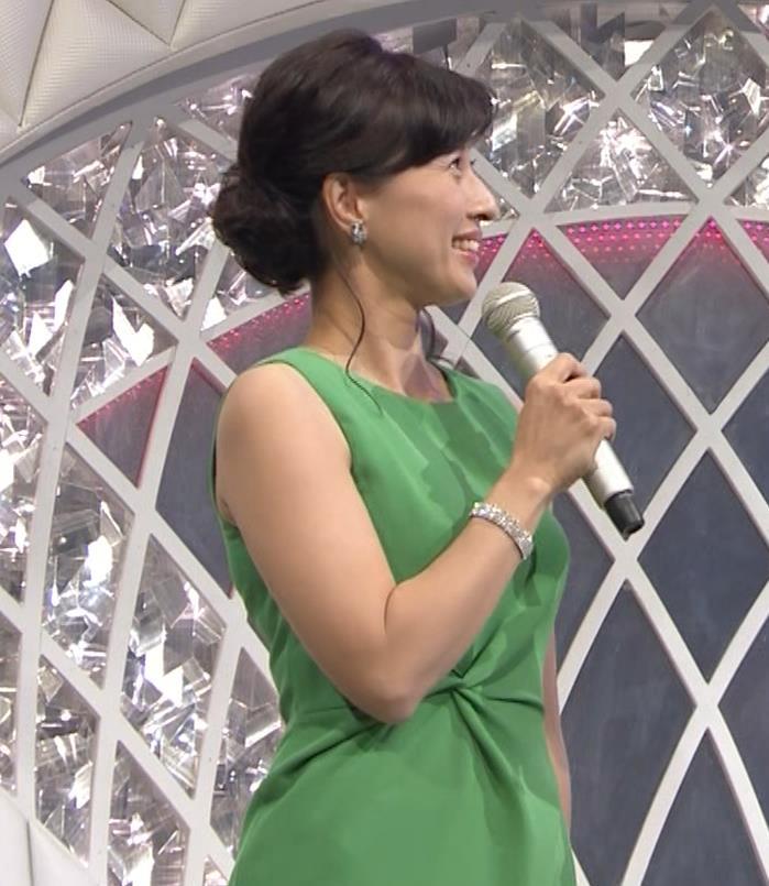 小郷知子アナ ノースリーブの健康的な腕キャプ・エロ画像4
