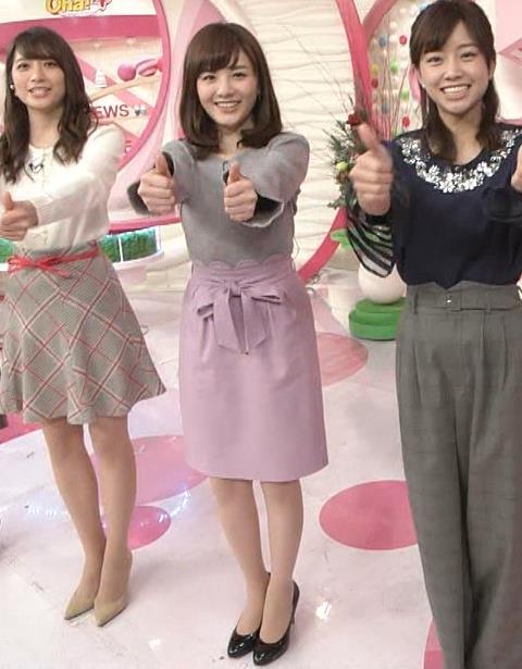 小菅晴香アナ oha4キャスターのニットおっぱいキャプ・エロ画像3