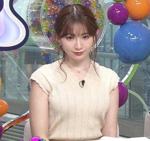 小嶋陽菜 服の上からでも形のよさそうなおっぱいキャプ・エロ画像