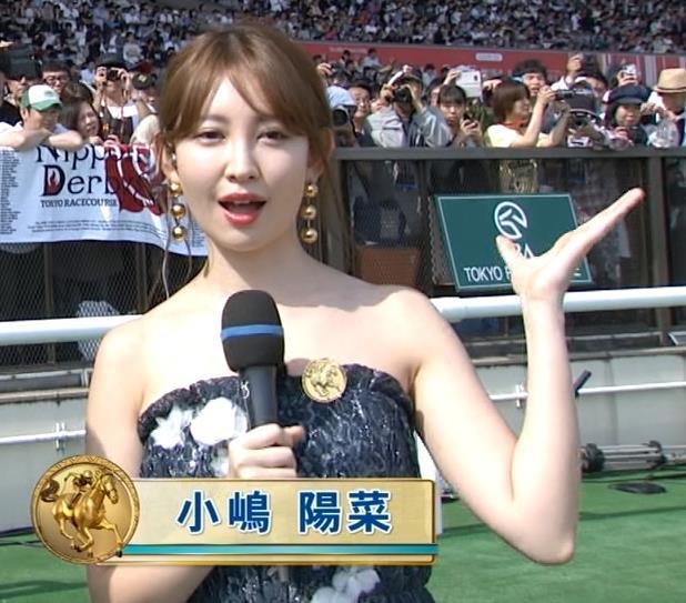 小嶋陽菜 露出度が高いチューブトップのワンピースキャプ・エロ画像