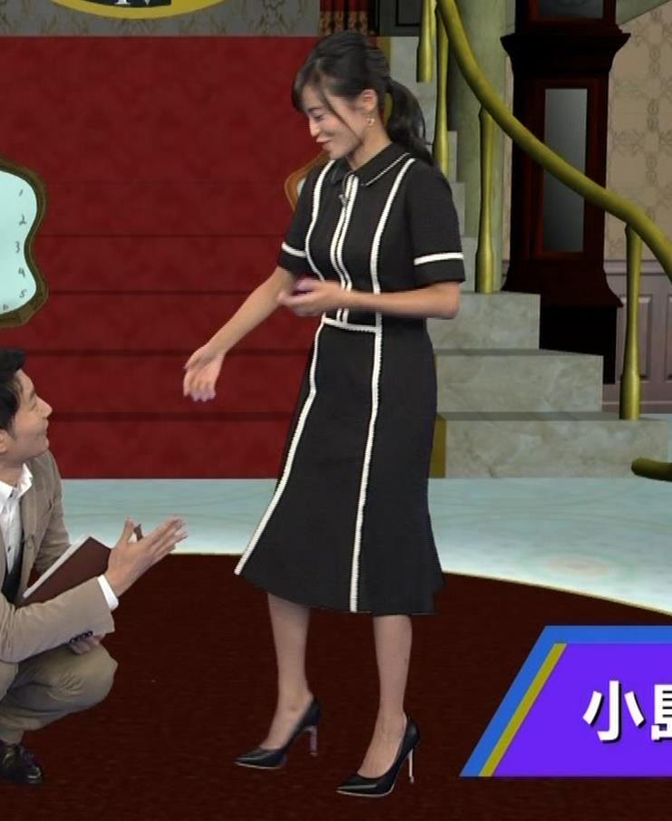 小島瑠璃子 ありそうでなさそうな着衣おっぱいキャプ・エロ画像