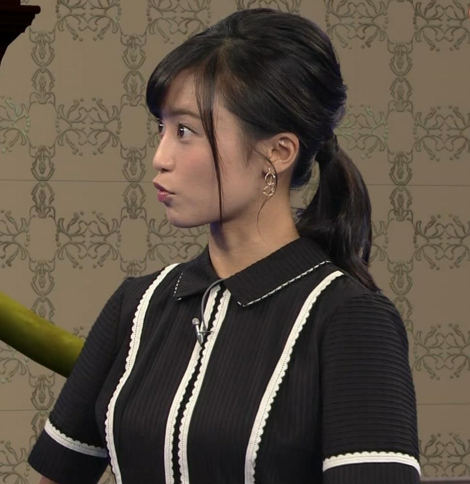 小島瑠璃子 ありそうでなさそうな着衣おっぱいキャプ・エロ画像6