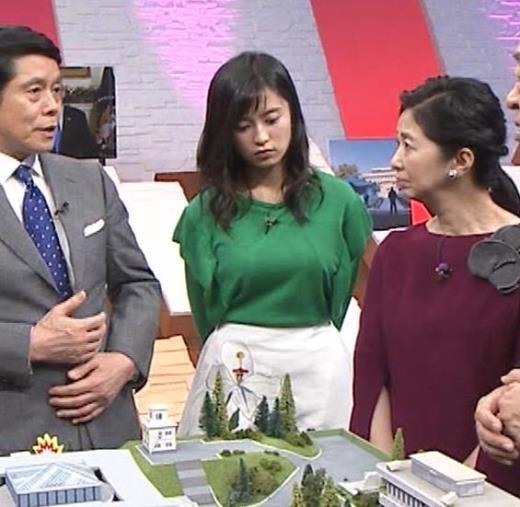 小島瑠璃子 おっぱい 「池上彰の新春解説 世界を見に行く」キャプ画像(エロ・アイコラ画像)