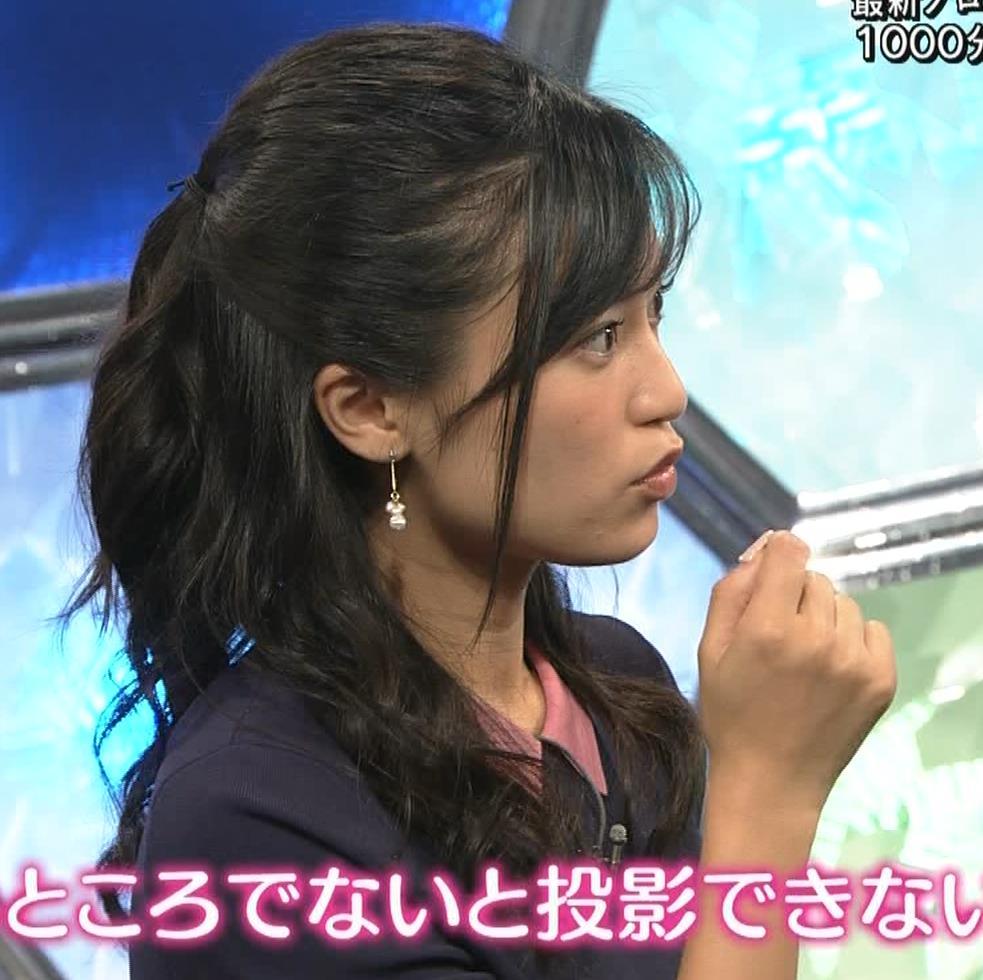小島瑠璃子 スカートがパツパツキャプ・エロ画像11