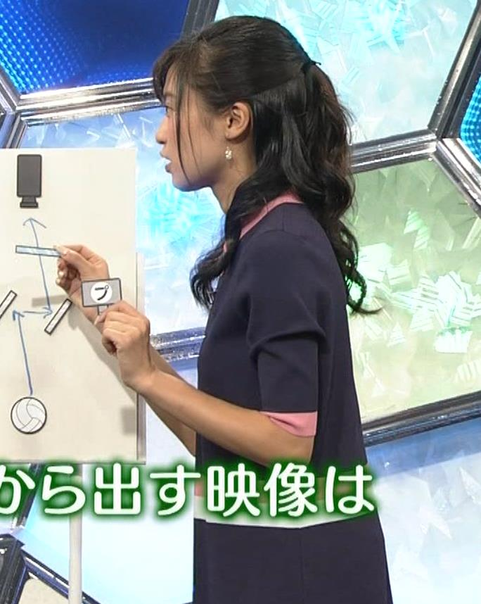 小島瑠璃子 スカートがパツパツキャプ・エロ画像7