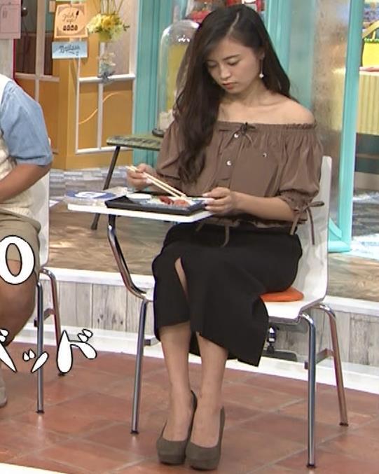 小島瑠璃子 肩出し衣装キャプ・エロ画像7