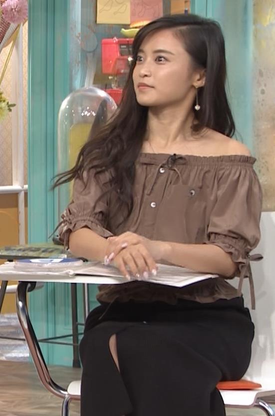 小島瑠璃子 肩出し衣装キャプ・エロ画像10