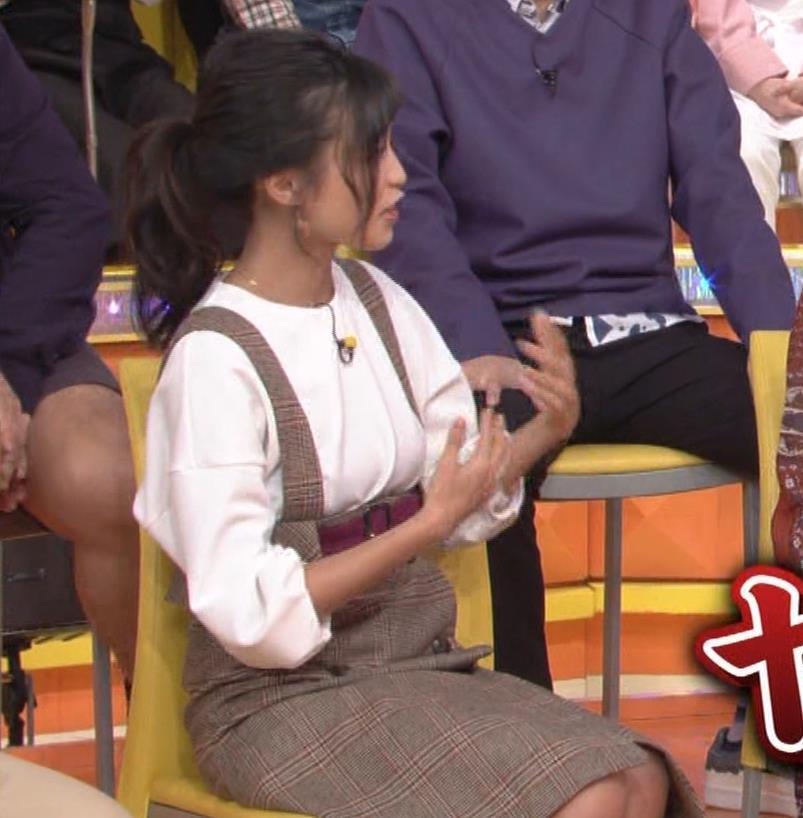 小島瑠璃子 着衣横乳キャプ・エロ画像