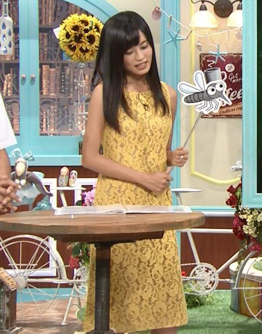 小島瑠璃子 体のラインがエロいワンピースキャプ・エロ画像