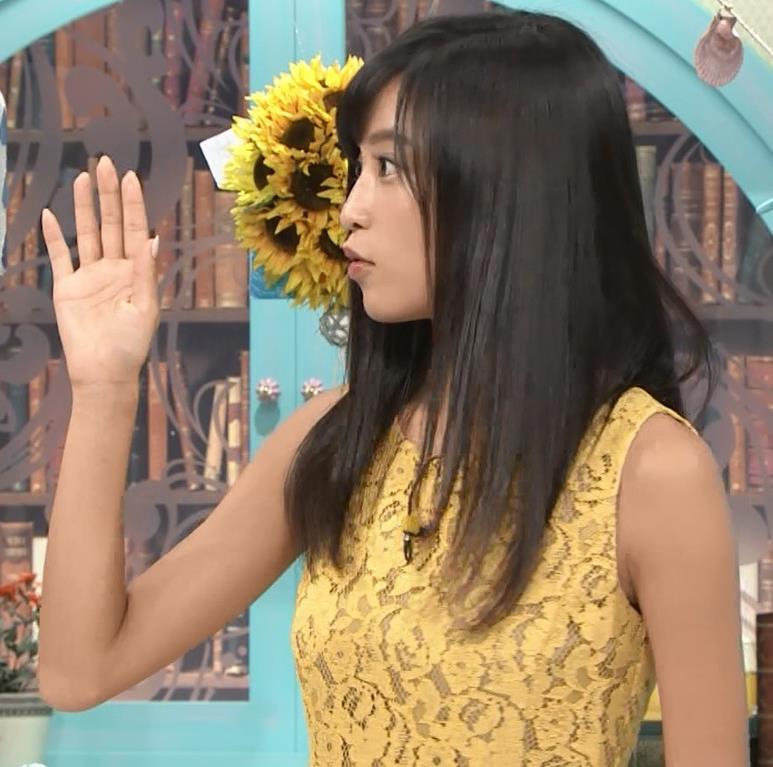 小島瑠璃子 体のラインがエロいワンピースキャプ・エロ画像5