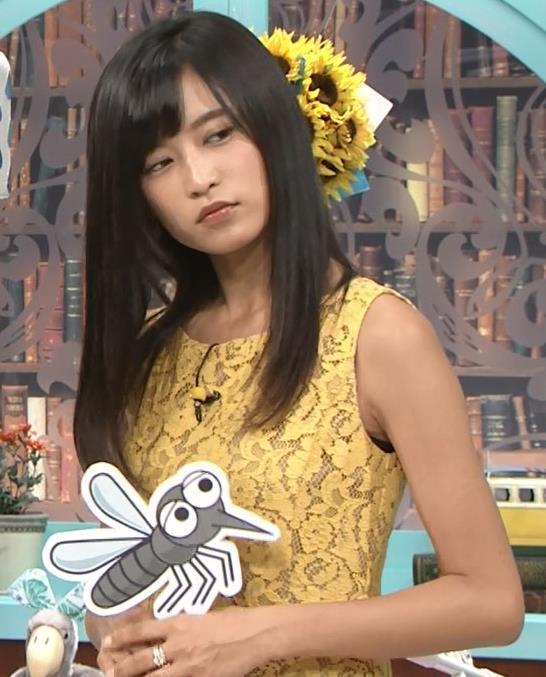小島瑠璃子 体のラインがエロいワンピースキャプ・エロ画像6