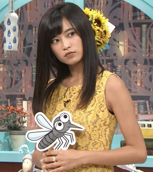 小島瑠璃子 体のラインがエロいワンピースキャプ・エロ画像7