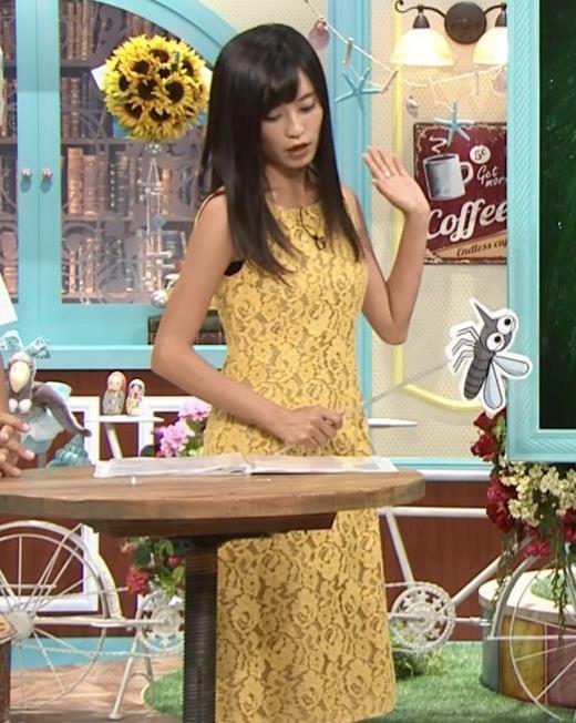 小島瑠璃子 体のラインがエロいワンピースキャプ画像(エロ・アイコラ画像)
