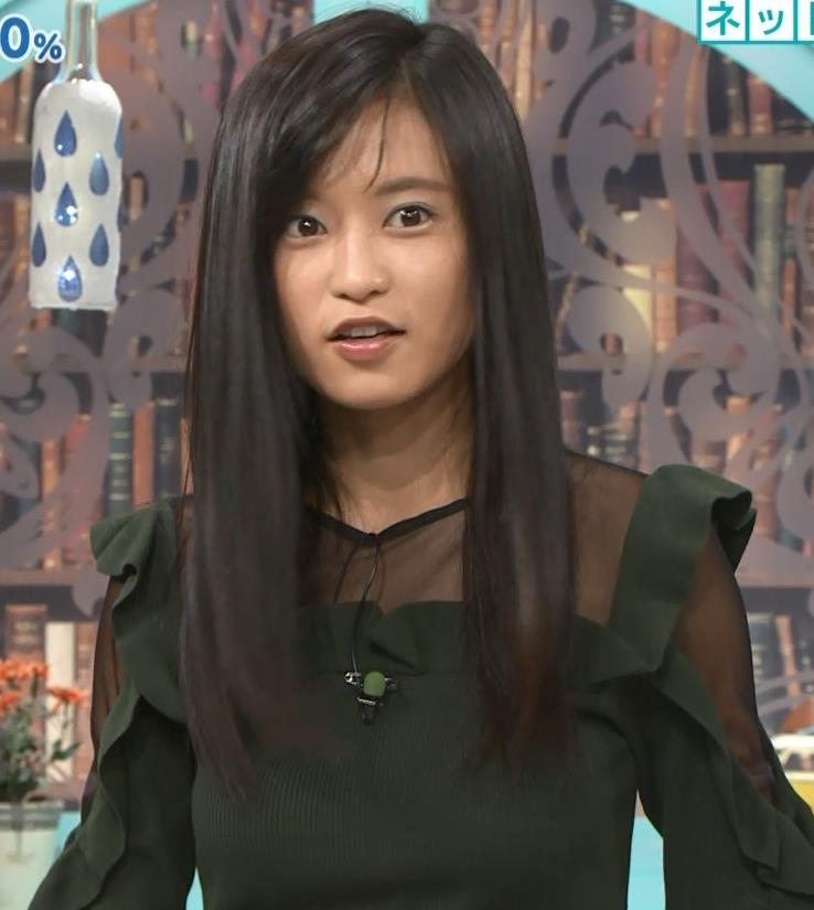 小島瑠璃子 横乳&腕透けキャプ・エロ画像5