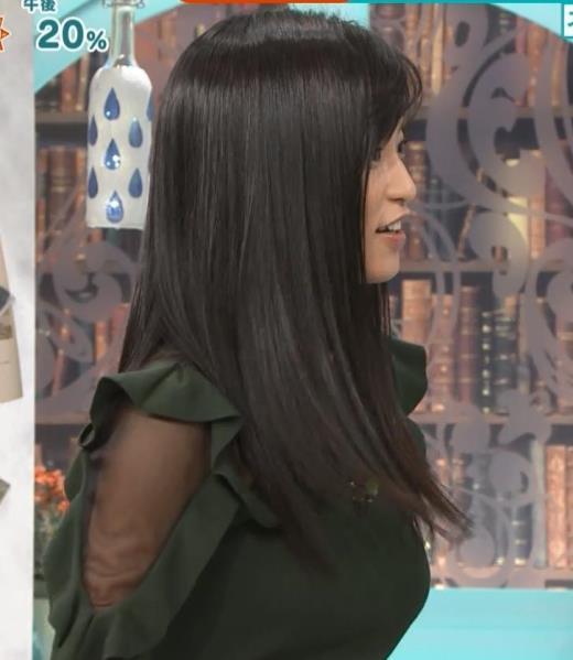 小島瑠璃子 横乳&腕透けキャプ画像(エロ・アイコラ画像)