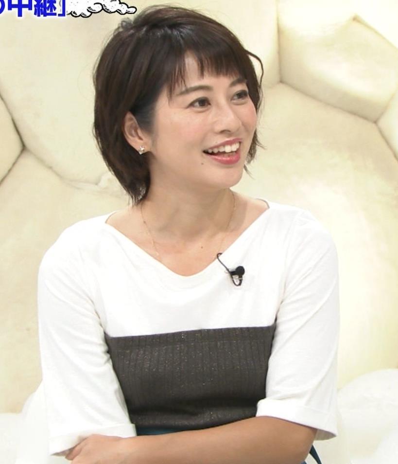 久保田直子アナ ニット乳キャプ・エロ画像