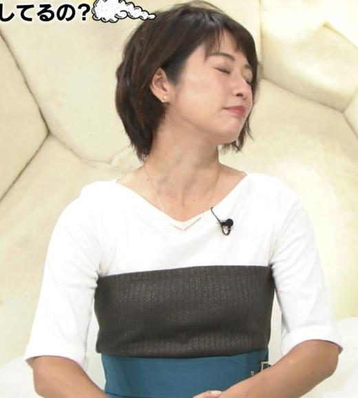 久保田直子 ニット乳キャプ画像(エロ・アイコラ画像)
