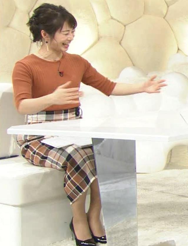 久保田直子アナ ニット乳♡キャプ・エロ画像5