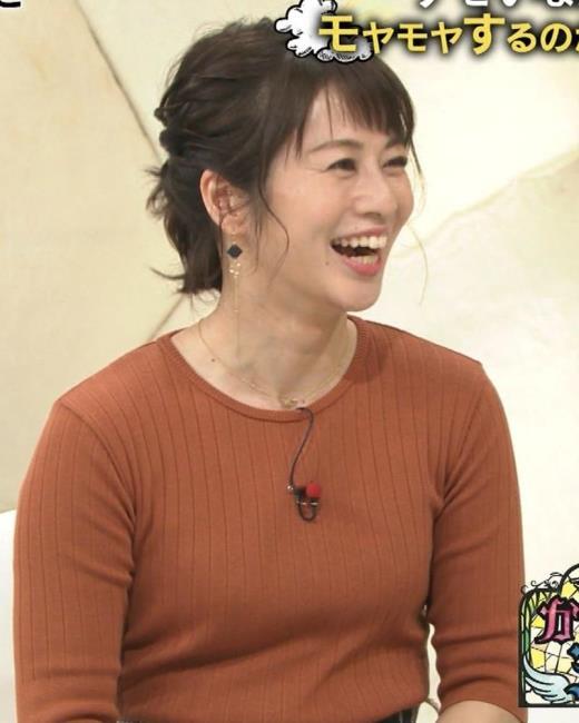 久保田直子 ニット乳♡キャプ画像(エロ・アイコラ画像)