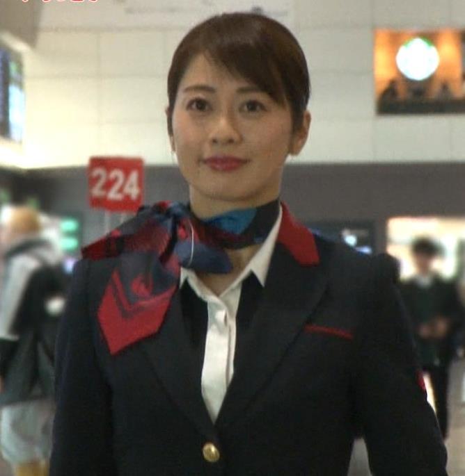 久保田直子アナ CA制服キャプ・エロ画像
