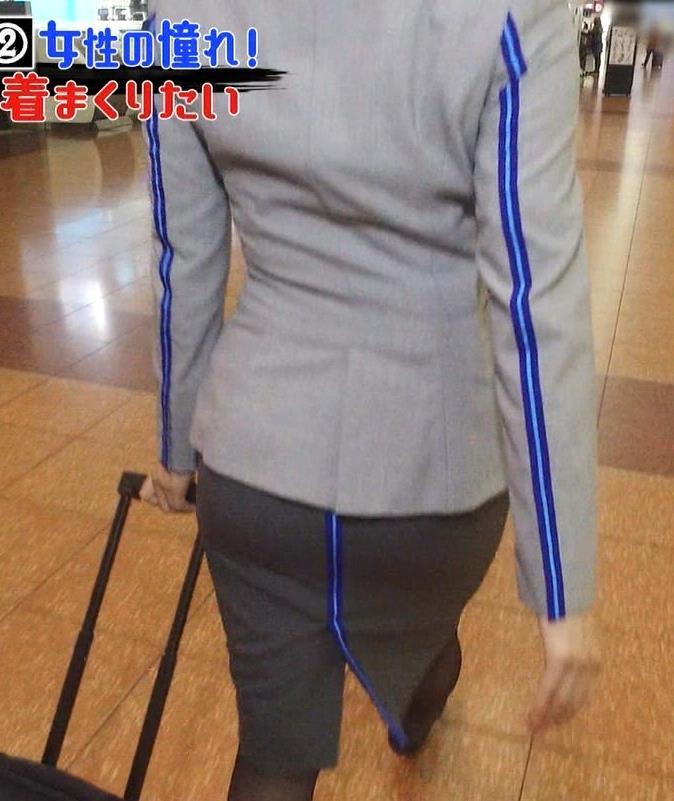 久保田直子アナ CA制服キャプ・エロ画像3